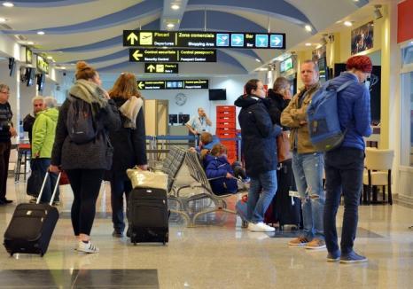 """""""Zburătorii"""": Peste 160.000 de pasageri au tranzitat Aeroportul Oradea în 2017"""