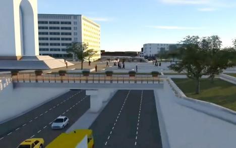 'Unul dintre cele mai complicate proiecte din Oradea în ultimii 20 de ani'. Pasajele subterane din Piaţa Gojdu vor costa 21,3 milioane euro(VIDEO)