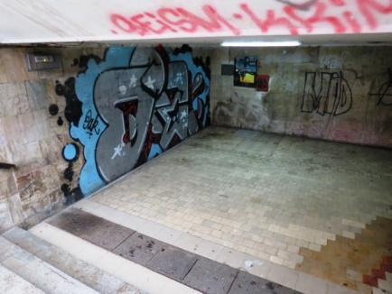 Concurs pentru artiştii graffiti. Câştigătorul va 'picta' un pasaj subteran din oraş