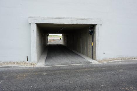 Oradea are încă un pasaj suprateran. Se deschid toate benzile de circulaţie ale celui din zona Universităţii(FOTO)