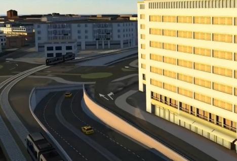 Pasajul subteran de la Piața Cetate din Oradea va fi realizat de firma care a construit Podul Centenarului (VIDEO)