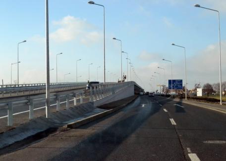 Via Obor: Un pasaj suprateran cu patru benzi va fi construit de-a lungul şoselei de centură, peste sensul giratoriu de lângă cartierul Europa