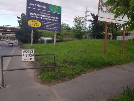 Ne enervează: pasajul mizerabil de la capătul Bulevardului Dacia (FOTO)