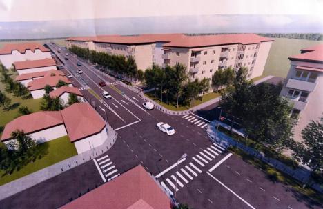Nou proiect în Oradea: Pasaj suprateran de 8,2 milioane euro peste Centură în continuarea străzii Meșteșugarilor (FOTO / VIDEO)