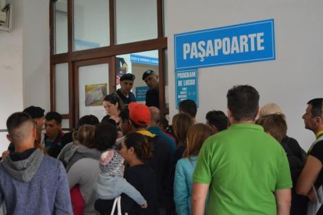 Angajaţii de la Paşapoarte nu mai merg în judeţ, la Salonta, Aleşd şi Valea lui Mihai. Localnicii care vor acte vor veni la Oradea