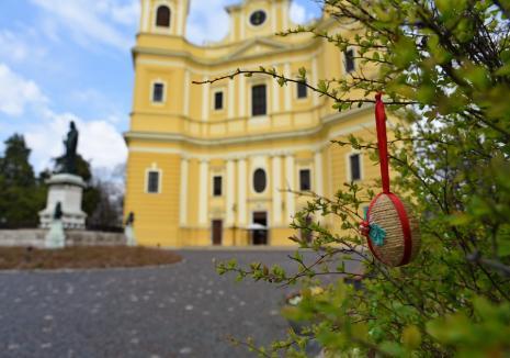 Circulația, permisă între orele 20 și 2 de Paștele Catolic. Programul ceremoniilor de la Catedrala Romano-Catolică din Oradea