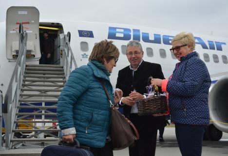 Şeful CJ Bihor spune că va anunţa, săptămâna viitoare, 'trei sau patru' destinaţii externe de pe Aeroportul Oradea