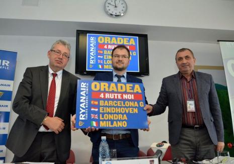 Şeful CJ, Pásztor Sándor, n-a ştiut de decizia Ryanair. Va zbura la Dublin să se întâlnească cu liderii companiei