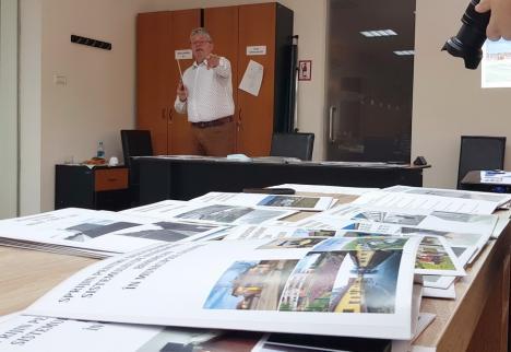 Pásztor la adio: Preşedintele CJ Bihor a pus pe masă mape cu investiţii şi a spus că lasă succesorului 41 de proiecte pornite. Ce a 'învăţat'?(VIDEO)
