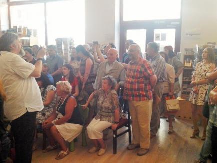 Ioana Pârvulescu, Andrei Vieru şi Horia Roman Patapievici și-au prezentat cele mai recente cărți la Oradea (FOTO)
