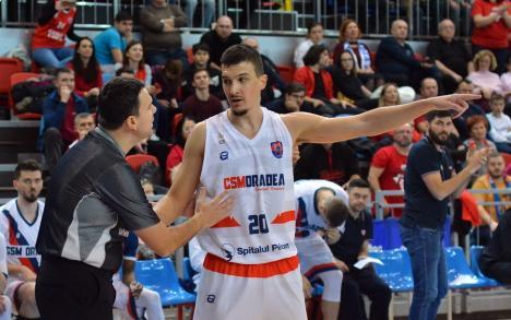 Pavle Reljic şi-a prelungit contractul cu CSM CSU Oradea