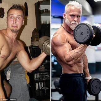 Pseudo-Bunicuţul: Un antrenor de fitness de doar 35 de ani investeşte o avere ca să arate de 60 (FOTO)
