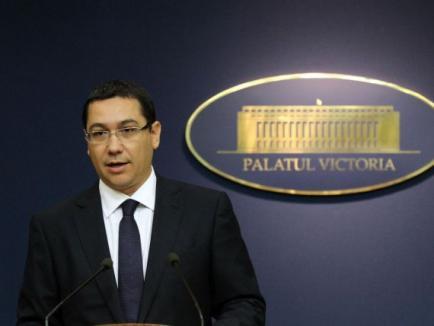 Cabinetul Ponta II a fost învestit de Parlament, iar miniştrii au depus jurământul