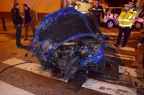 Accident teribil în Cantemir. Printre victime, un medic de la SMURD (FOTO)