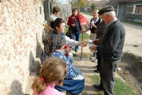 Unii cu munca, alţii cu pomenile: În Bihor sunt 8 pensionari la 10 angajaţi, în Teleorman de două ori mai mulţi!