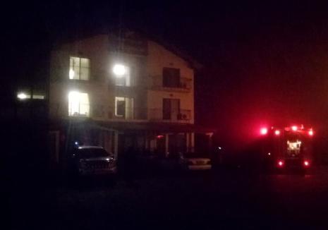 Incendiu la pensiunea Magnolia din Biharia: 17 persoane au fost evacuate, 12 victime intoxicate cu fum
