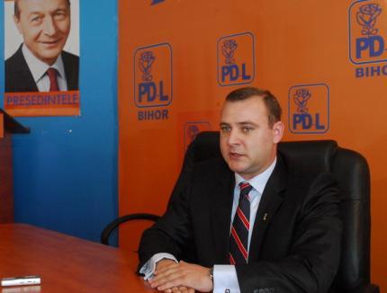 """Pentie jr. promite reforma în PDL Bihor: """"Actuala conducere s-a plafonat"""""""