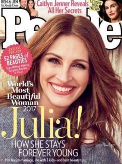 Pretty woman: Julia Roberts a fost desemnată cea mai frumoasă femeie din lume