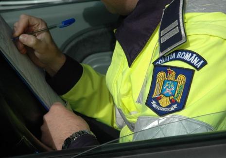 Urmărit internaţional pentru o condamnare pentru conducere fără permis, un orădean a fost prins în Sălard, la volan
