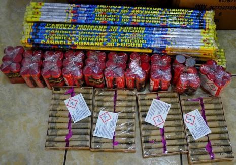 Acţiunea 'focuri de artificii': Poliţiştii bihoreni vor scotoci pieţele, târgurile şi centrele comerciale