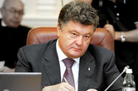 Exit-poll: Poroşenko ales din primul tur preşedinte al Ucrainei