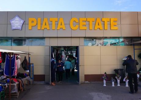 ADP Oradea a investit 440.000 lei din surse proprii pentru a moderniza Piaţa Cetate (FOTO)