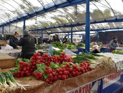 Piețele agroalimentare din Oradea rămân deschise