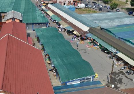 Administrația Domeniului Public licitează închirierea de mese și locuri în piețele orădene