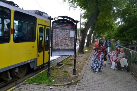 Piaţă în mizerie: Cerşetorii care îşi fac veacul în Piaţa Bucureşti din Oradea îi dezgustă pe localnici şi turişti deopotrivă (FOTO)