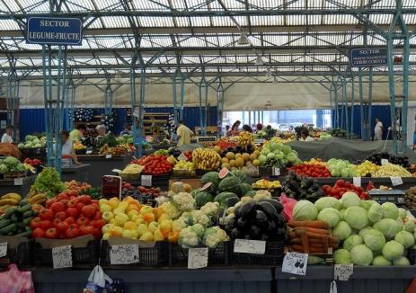 Legumele şi fructele vândute bihorenilor nu conţin pesticide în exces