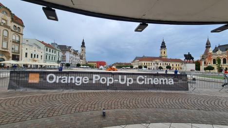 Seri cu filme în Piața Unirii din Oradea. În ce condiții poți participa (FOTO / VIDEO)