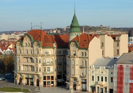 Palatul Vulturul Negru, iar în şantier: Primăria vrea să finalizeze reabilitarea monumentului cu bani europeni