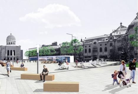 Concurs internațional. Primăria caută arhitect pentru amenajarea spațiului de deasupra parcării din Piața Independenței
