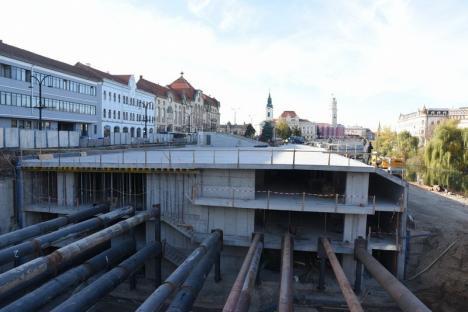 Cum va arăta zona de relaxare de deasupra parcării subterane din strada Independenței din Oradea (FOTO)