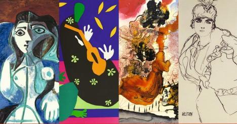'Arta de a dărui': Lucrări de Picasso, Matisse, Dali şiKlimt vor putea fi admirate la Oradea