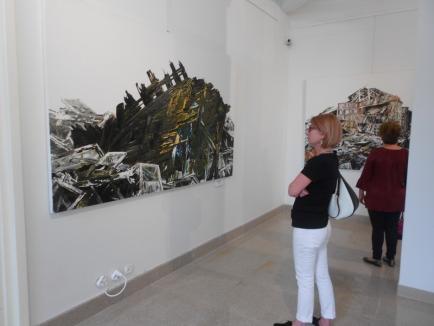 'Pictofabule'. Expoziţie inedită de pictură la Muzeul Ţării Crişurilor (FOTO)