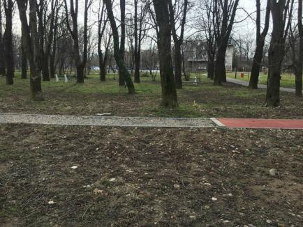 Ne enervează: Starea în care a ajuns Parcul Brătianu (FOTO)
