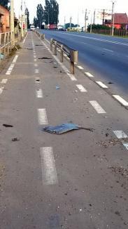 Pista gunoaielor: În Borş, bicicliştii pedalează între mizerii de toate felurile (FOTO)