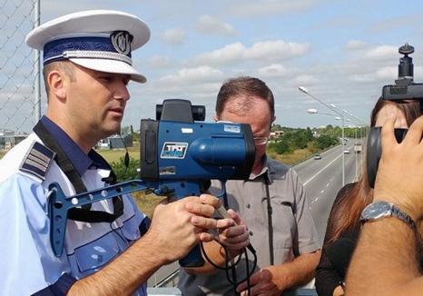 Se încinge vânătoarea de vitezomani: Primăria Oradea a cumpărat două pistoale radar