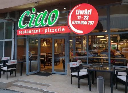 Ciao, Oradea! Chef Alexis ne îmbie cu pizza pe vatră, specialităţi greceşti şi preparate din bucătăria italiană, în cel mai nou restaurant-pizzerie din oraș (FOTO)