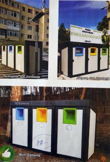 Insulele reciclării: Oradea va avea 11 platforme modulare pentru colectarea selectivă a deşeurilor