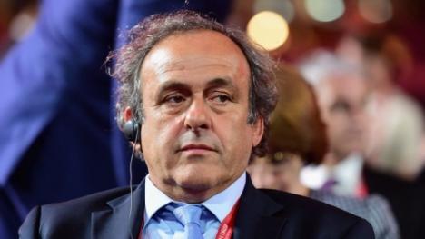 Şeful UEFA, Michel Platini, a fost eliberat la câteva ore după ce a fost reţinut