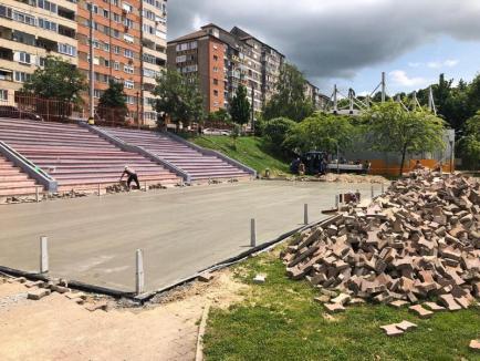 Orășelul Copiilor din Oradea va avea teren de minifotbal