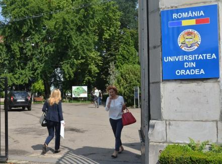 O duzină dintre specializările Universităţii din Oradea sunt neatractive pentru tineri. Printre ele: Sport, Ştiinţa Mediului, Mecatronică, Comunicare şi relaţii publice