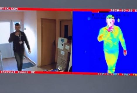 Noi dotări anti-coronavirus la Urgențele de la Spitalul Judeţean Oradea: Poartă termică şi teste rapide pentru pacienţii cu febră (VIDEO)