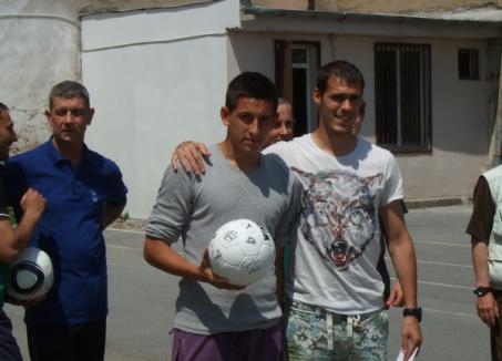 "Portarul FC Bihor, Pogacsics Krisztian, a jucat fotbal la liceul ""Ady Endre"""