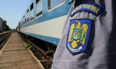 Impostori în tren: Un român şi un vietnamez au încercat să iasă din ţară, prin Episcopia Bihor, cu documente măsluite