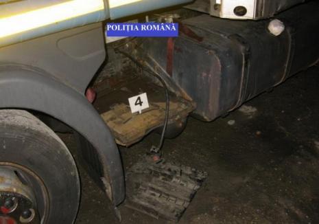 Ce se mai fură în Oradea: O bandă de cinci hoţi au lăsat 11 TIR-uri fără acumulatori, paguba depăşeşte 20.000 lei