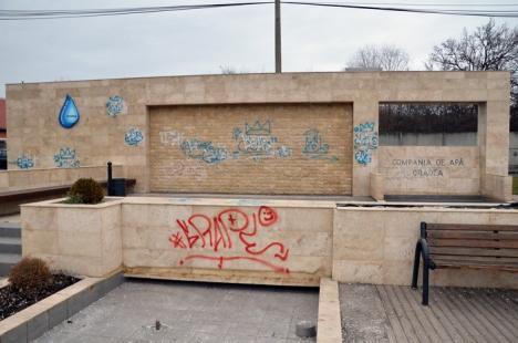 Poliţia grafitti: Poliţiştii locali vor putea amenda cu 500 lei vandalii care mâzgălesc faţadele