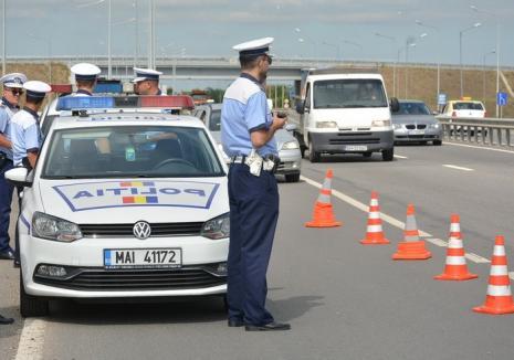 Tot mai mulţi beţivi la volan în Bihor: Orădean reținut după ce a fost prins 'mangă' şi fără permis
